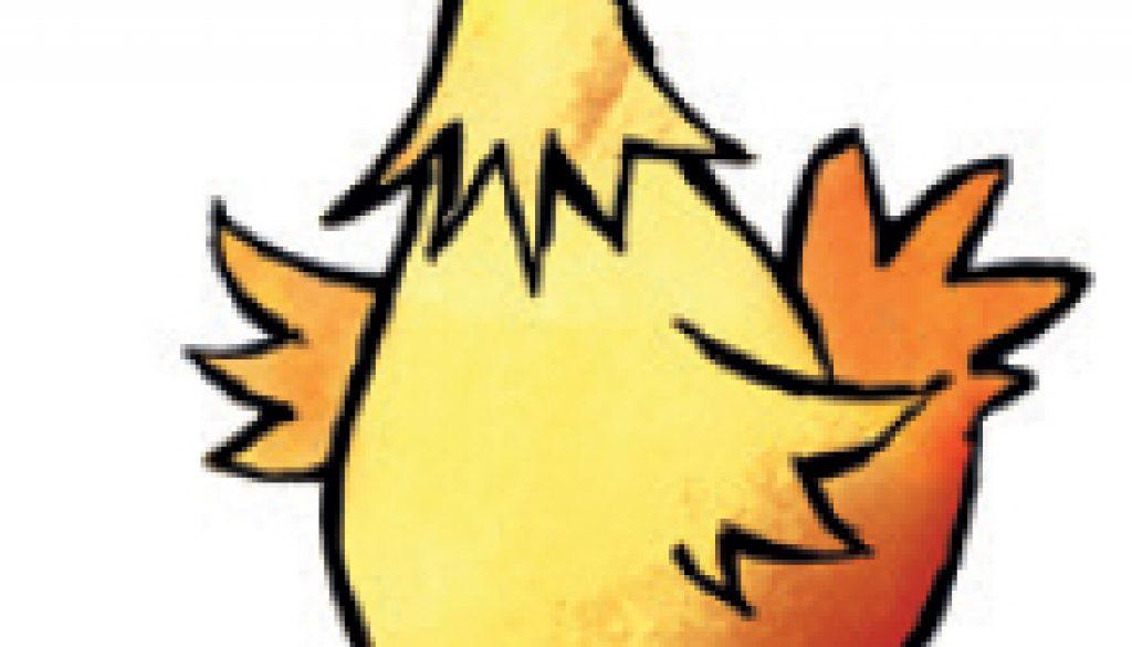 left chicken